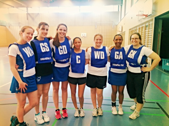 Zurich Netball vs Zug Match Report